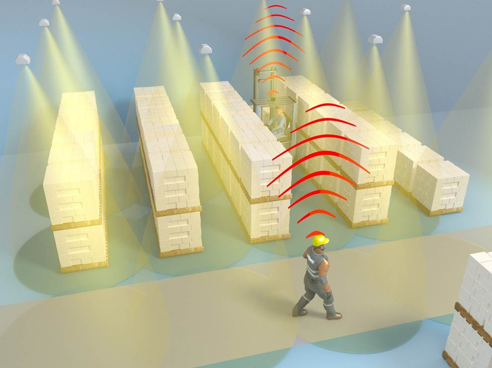 3D Sensoren schützen Mitarbeiter