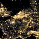 Dauerstress für Flora und Fauna: Die nächtliche Lichtverschmutzung steigt weiter an  Bildquelle: www.nasa.gov