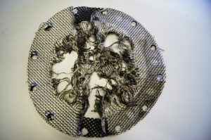 Materialversuche am STFI: Berstdrucktest 3 Lagen Vectran und Naht 71,5 bar (Quelle: STFI)