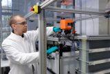 Im Redox-Flow-Speichersystem des Oldenburger Gründerteams wird ein neuartiges Dichtkonzept angewendet, welches geringere Fertigungskosten erlaubt und somit die Konkurrenzfähigkeit des Systems erhöht. Bild: NEXT ENERGY