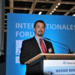 Wasser Berlin International 2015: Cyber Forum mit Kevin Morley, American Water Works Association (Bild: IWP)