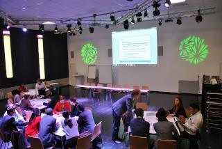 Green Talents: Forschungsnetzwerk für Nachhaltigkeit des Bundesministerium für Bildung und Forschung Workshop am 27.10.2016