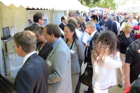 Foto (Quelle: AiF Projekt GmbH): Innovationstag 2015 – Mekka der BMWi-geförderten Technikneuheiten