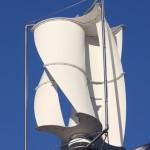 Um den Gewichtsnachteil anderer Rotoren in Vertikalbauweise ausgleichen zu können, setzt  LuvSide bei der Materialauswahl auf konsequente Ultra-Leichtbau-Weise mit   faserverstärktem Hochleistungskunststoff. (Bild: LuvSide)