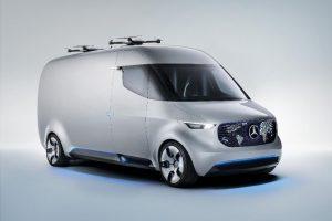 Vision Van - Exterieur: Mercedes-Benz Vans präsentiert den Transporter der Zukunft: Intelligent, vernetzt und elektrisch