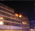 Brand in einem Altersheim. In Hochhäusern oder öffentlichen Gebäuden muss die Entrauchung  funktionieren. (Bild: BF Augsburg)
