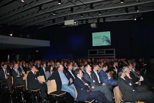 """AUTONOMIK für Industrie 4.0: Auf dem Kongress """"Digitale Innovationen für die Industrie"""" wurden am 13. Oktober in Berlin die Forschungsergebnisse des vom Bundesministerium für Wirtschaft und Energie geförderten Programms diskutiert."""