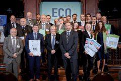 Übergabezeremonie der ECO EPDs an Hersteller aus ganz Europa (Bild: IBU)