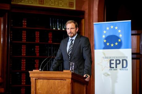 Christian Donath, Managing Director der ECO Platform (Bild: IBU)
