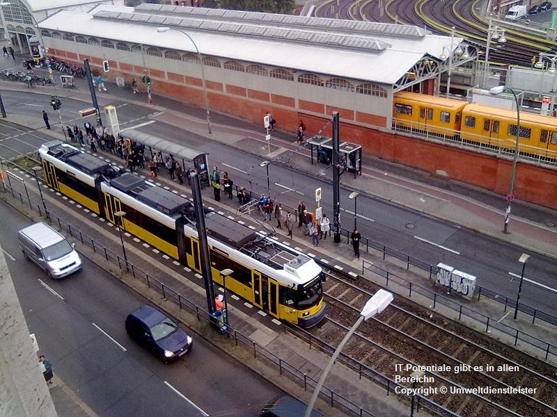 IT Potentiale gibt es in allen Bereichen. Hier im Nahverkehr in Berlin. (Copyright © 2015 Umweltdienstleister)