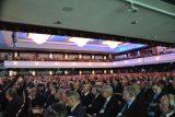 Mehr als 3.000 Gäste aus Wirtschaft, Politik und Medien besuchten den Wirtschaftstag 2016.