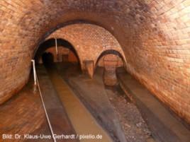 Historischer Kanal unter der Gallusanlage.