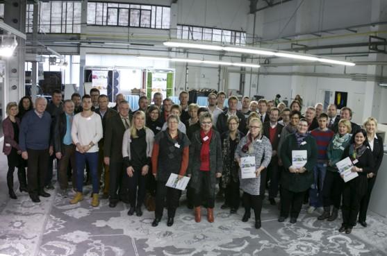 Netzwerktagung: 70 Partner aus Wissenschaft und Textilindustrie in mehr als einem Dutzend Innovationsprojekten mit Umsatzpotenzial aktiv (Quelle: LUVO-Impex)