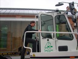 BEHALA-Geschäftsführer Peter Stäblein setzt auf elkotromobilen Kombiverkehr. (Bild: Copyright ©IWP)