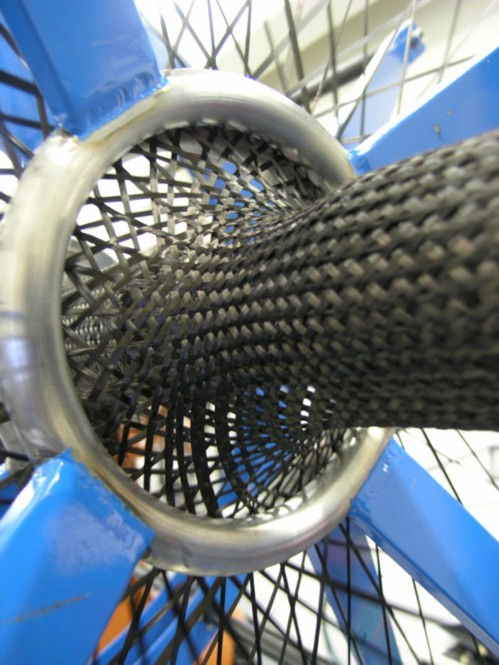 Flechtring für Faserverbundstoffe (Quelle: ITA Aachen)