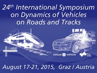 24th International Symposium on Dynamics of Vehicles on Roads and Tracks (Foto: VIRTUAL VEHICLE)