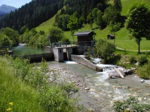 """Bestehende Kleinkraftwerke könnten 50 Prozent mehr Energie erzeugen - """"Inselkraftwerke"""" im Kommen  Bild: Wasserwirtschaft, Land Salzburg"""