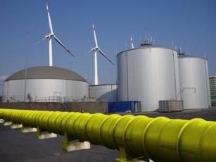 Die Zukunft der Energieversorgung: Energie aus Ökostrom, gespeichert in Gas (Bild: Martin Miltner, TU Wien))