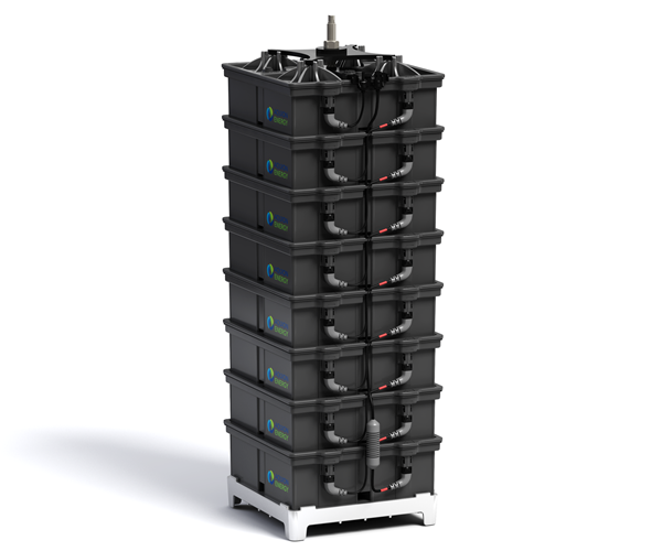 Aquion S-Line Battery Stack (Bild: Aquion Energy)