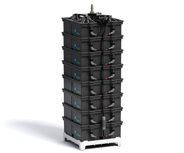 Aquion S-Line Battery Stack (Bild: Aquion Energy)