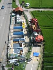 Die Bundesanstalt für Straßenwesen misst in Zusammenarbeit mit der Hochschule Augsburg mit der Lysimeteranlage in Augsburg die Durchsickerung von Straßenböschungen (Foto: Birgit Kocher, BASt)