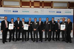 Gewinner und Premium-Partner des Energy Efficiency Award 2012