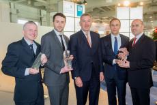 DIN-Innovationspreise: Die Gewinner auf der Hannover Messe (Bild:DIN)