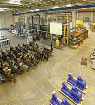 Green Factory Allgäu ein Leuchtturmprojekt (Bild: Alois Müller GmbH)