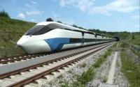 Der Zug der Zukunft wird ohne Oberleitung berührungslos mit Strom versorgt. Foto: DLR