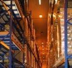Zum Tag der Logistik am 16. April 2015 werden an der TH Wildau Lösungen für die Intralogistik unter anderem am Beispiel von Hochregallagern vorgestellt. (Bild:TH Wildau / Bernd) Schlütter