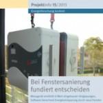 """Das BINE-Projektinfo """"Bei Fenstersanierung fundiert entscheiden"""" (15/2013)"""